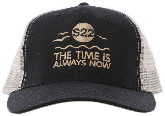 Singer22 The Time Is Always Now Trucker Hat