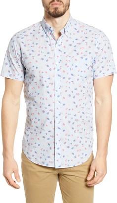 Bonobos Riviera Floral Print Slim Fit Button-Down Shirt