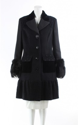 Moschino Cheap & Chic Moschino Cheap And Chic Black Cotton Trench Coat for Women