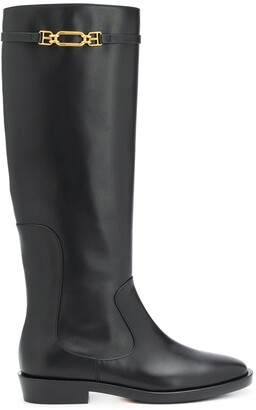 Bally Demina long patent boot