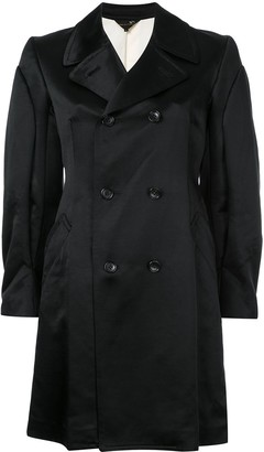 Comme Des Garçons Pre-Owned Classic Double Breasted Coat