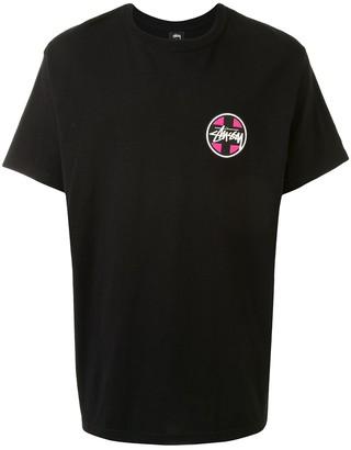 Stussy short sleeve logo print T-shirt
