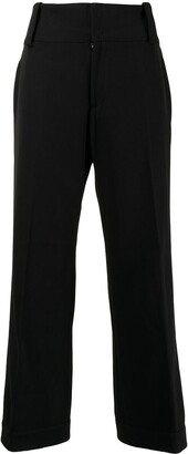 Yohji Yamamoto Pre-Owned Tailored Cropped Trousers