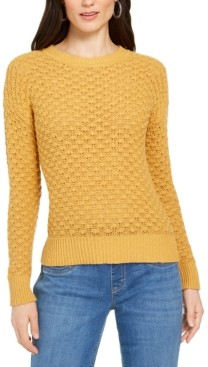 Style&Co. Style & Co Petite Bubble-Knit Pullover Sweater, Created For Macy's