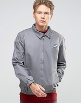 Bellfield Harrington Jacket with Printed Lining
