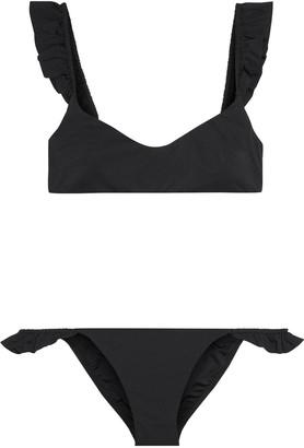Zimmermann Bonita Frill Ruffle-trimmed Bikini