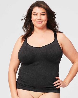 Cake Maternity - Women's Grey Shapewear - Sugar Candy Plus Size Maternity Tank - Size One Size, XS at The Iconic