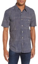 Faherty Men's Brand Coast Print Sport Shirt