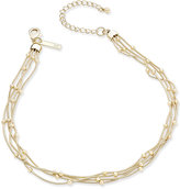 INC International Concepts Gold-Tone Ball Chain Choker Necklace, Only at Macy's