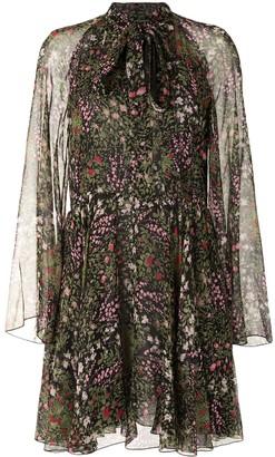 Giambattista Valli floral-print A-line mini dress