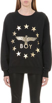 Boy London Metallic Globe Star Eagle sweatshirt