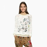 Desigual Floral Print Sweatshirt