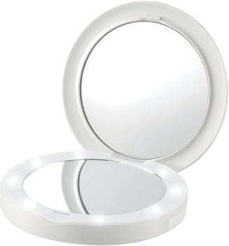Homedics Compact Charging LED Mirror
