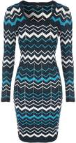 Jane Norman Chevron Jumper Dress
