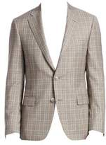 COLLECTION BY SAMUELSOHN Prince of Wales Plaid Wool Sportcoat
