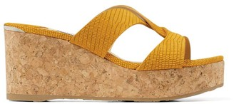 Jimmy Choo Atia 75 Wedge Sandals