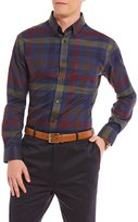 Daniel Cremieux Signature Multi-Check Heather Long-Sleeve Woven Shirt