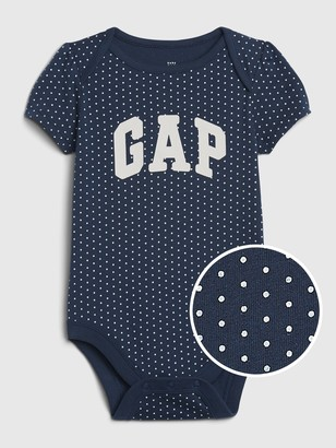 Gap Baby Logo Short Sleeve Bodysuit