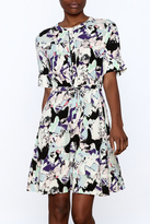 Nümph Abstract Tie Dress