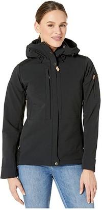 Fjallraven Keb Touring Jacket (Black) Women's Coat