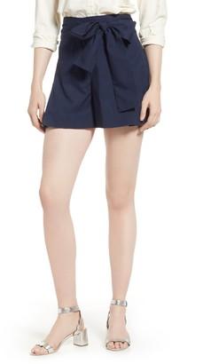 J.Crew Cotton Poplin Tie Waist Shorts