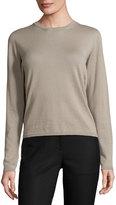 Iris von Arnim Cashmere Crewneck Sweater, Sand