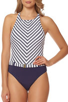 Bleu By Rod Beattie Cruise Control High-Neck One-Piece