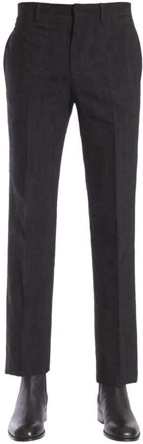 Givenchy Devorè Printed Classic Trousers