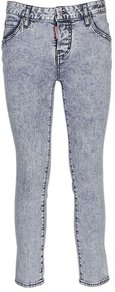DSQUARED2 Acid-Wash Skinny Jeans