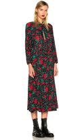 Vetements Polka Dot Flower Dress