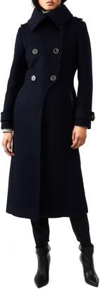 Mackage Elodie-R Double Breasted Wool Blend Coat