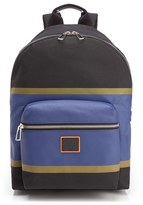 Paul Smith Stripe Backpack Black