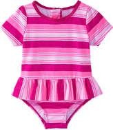 Joe Fresh Baby Girls' x lemlem Rash Guard, Bright Pink (Size 3-6)