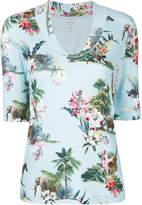 Marc Cain scoop neck T-shirt