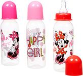 Disney Minnie Mouse 9-Oz. Bottle - Set of Three