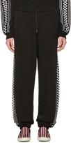 Stella McCartney Black Rustic Sportswear Lounge Pants