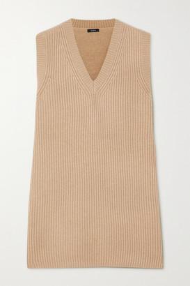 Joseph Ribbed Wool Sweater - Beige