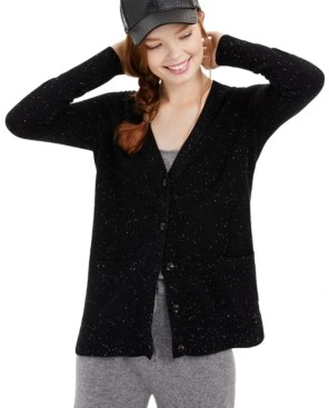 Charter Club Cashmere Donegal Cardigan, Created for Macy's