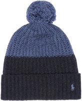 Polo Ralph Lauren Colour Block Knitted Bobble Hat