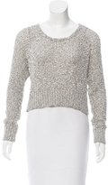 Mara Hoffman Open Knit Cropped Sweater