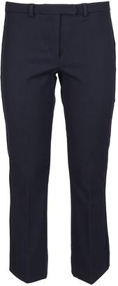 Max Mara Blue Technical Fabric Pants