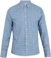 Faherty Ventura plaid brushed-cotton shirt