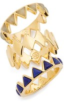 Tory Burch Women's 'Puzzle' Stone Rings (Set Of 3)