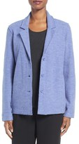 Eileen Fisher Petite Women's Notch Collar Merino Wool Jacket