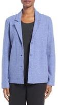 Eileen Fisher Women's Notch Collar Merino Wool Jacket