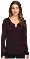Joe's Jeans Aleta Mock Long Sleeve Henley