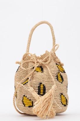 Alanui Jacquard Woven Bucket Bag