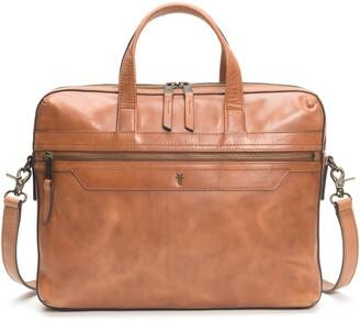 Frye Holden Slim Leather Briefcase