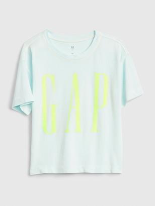 Gap Kids Logo Boxy T-Shirt