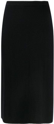 Filippa K High-Waisted Midi Skirt
